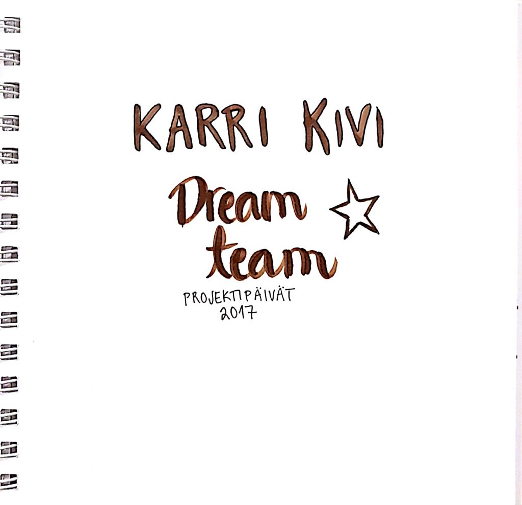Karri Kivi dream team - Page 1